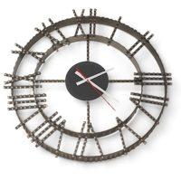 Часы кованные Везувий